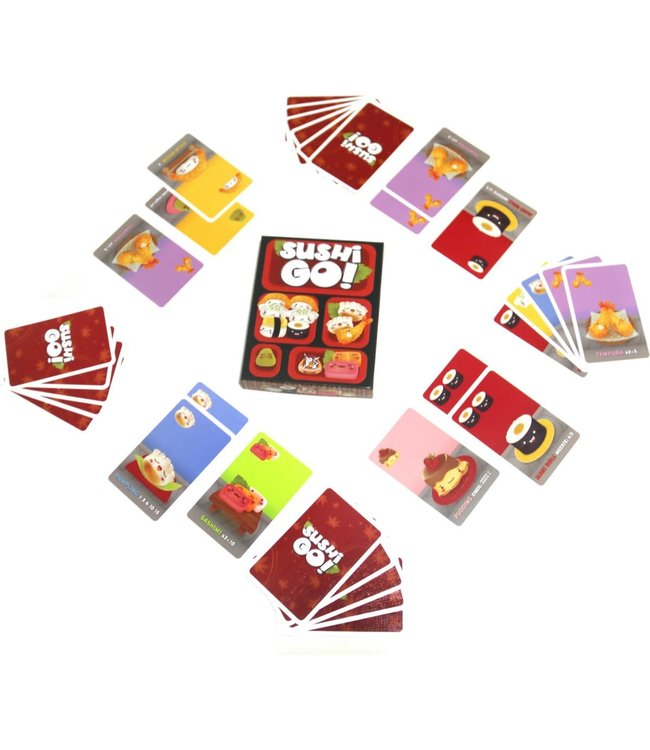 White Goblin Games Kaartpel Sushi Go 8+