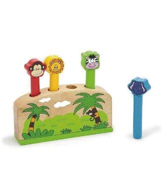 Viga Toys Viga Toys - Pop-up Toy Dieren 17x7x12 cm  1+