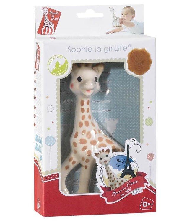 Sophie De Giraf   in wit-rode geschenkdoos   +0 mnd