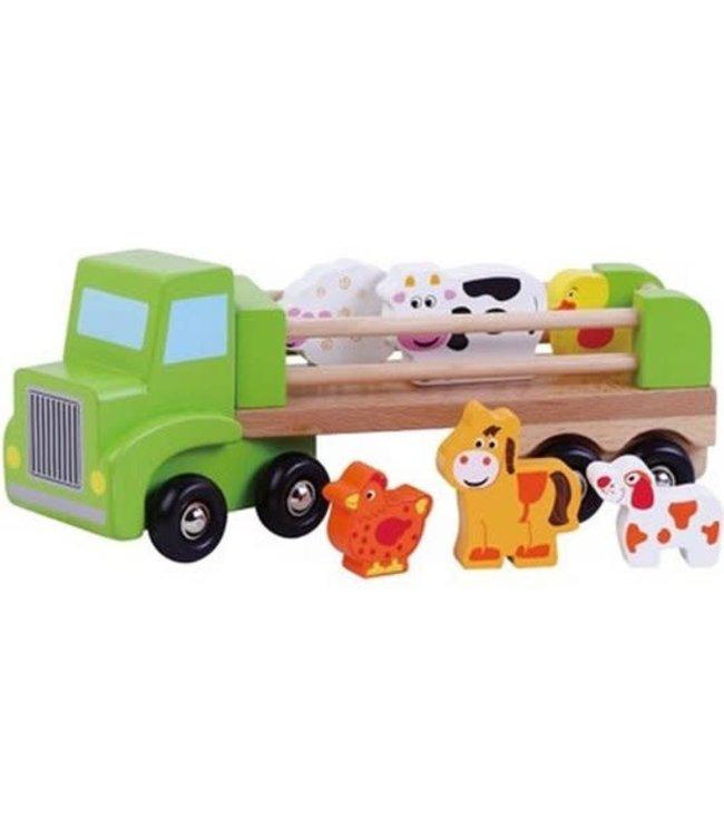 Simply For Kids   Vrachtwagen met Boerderijdieren   +18 mnd