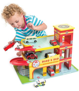 Le Toy Van Le Toy Van Dino's  Auto Garage 3+