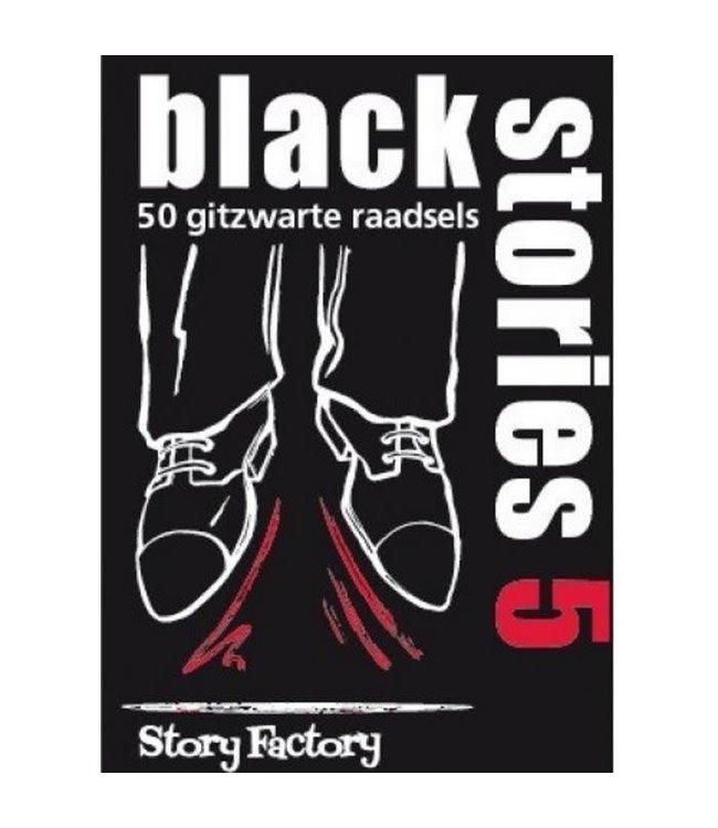 Black Stories 5   50 Raadsels   12+