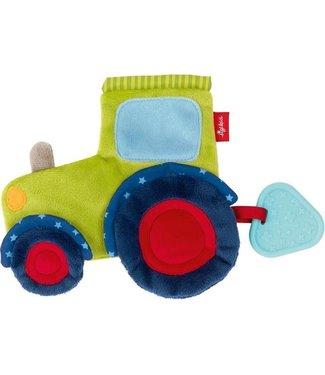Sigikid Sigikid | Rustling Comforter | Tractor | 18 cm | 0+