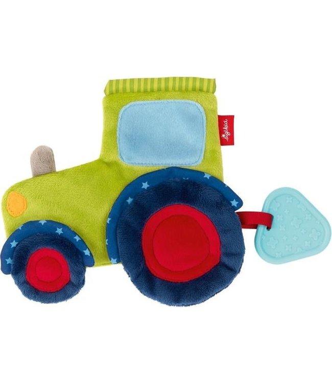 Sigikid PlayQ Rustling Comforter Tractor  18 cm 0+