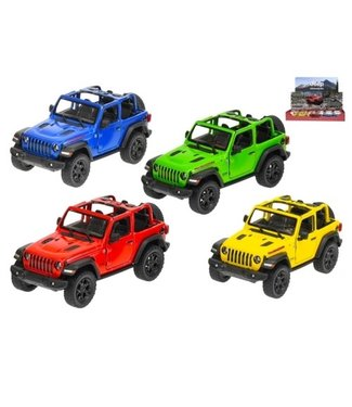 Jeep Wrangler PullBack 1:34  3+