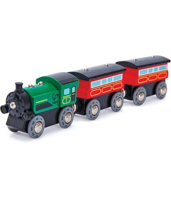 Hape Steam-Era Passenger Train 3+