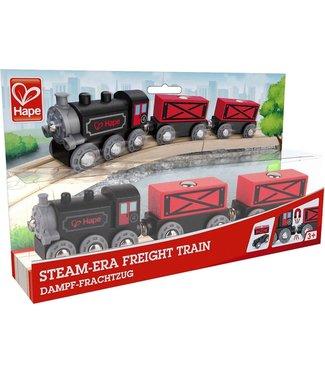 Hape Hape Steam-Era Freight Train 3+
