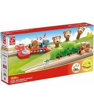 Hape Hape Music and Monkeys Railway  +18 mnd
