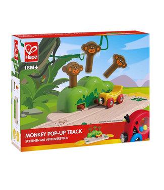 Hape Hape Monkey Pop-Up Track  +18 mnd