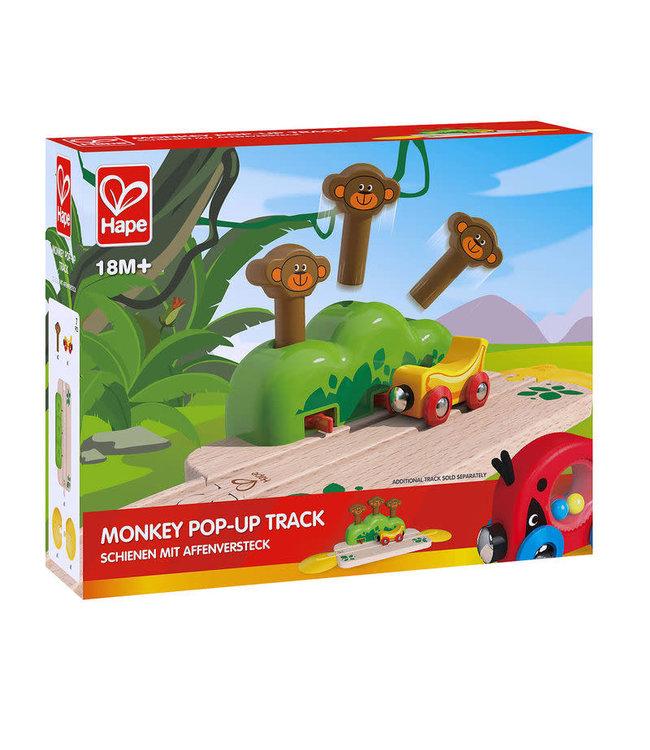 Hape Monkey Pop-Up Track  +18 mnd