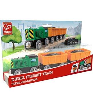 Hape Hape Diesel Freight Train 3+