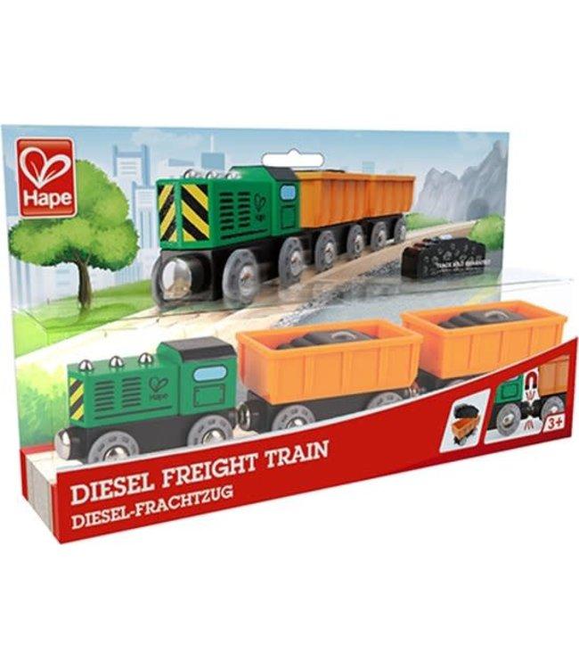 Hape Diesel Freight Train 3+