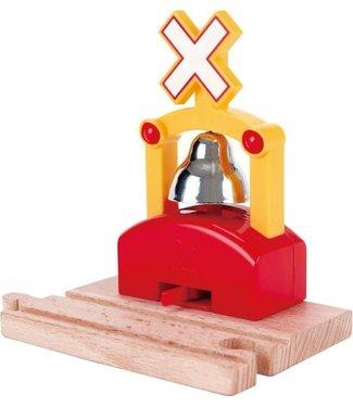 Hape Hape Automatic Train Bell Signal  3+