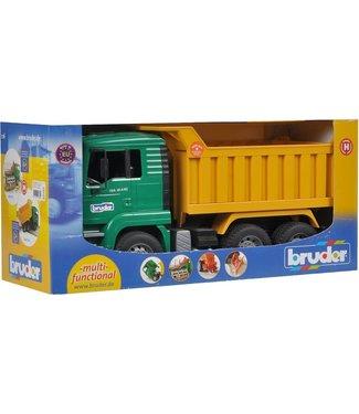 Bruder Bruder   MAN   Tip Up Truck  3+