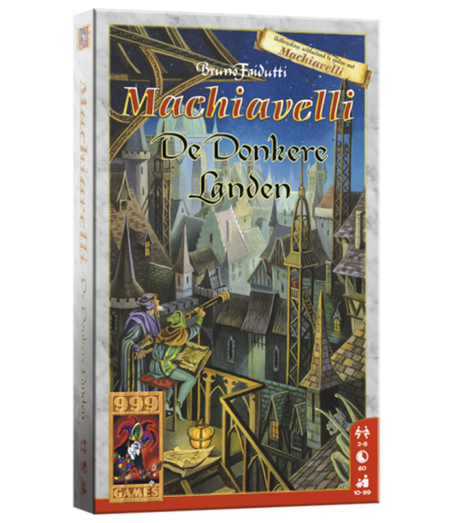 999 Games | Kaartspel | Machiavelli | Donkere Landen | 10+