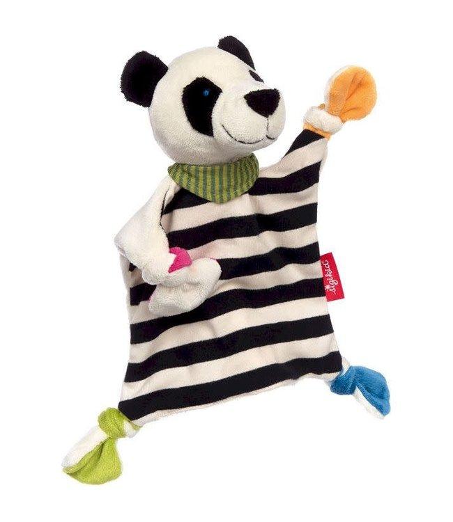 Sigikid | Knuffeldoek | Panda | 23 cm | 0+