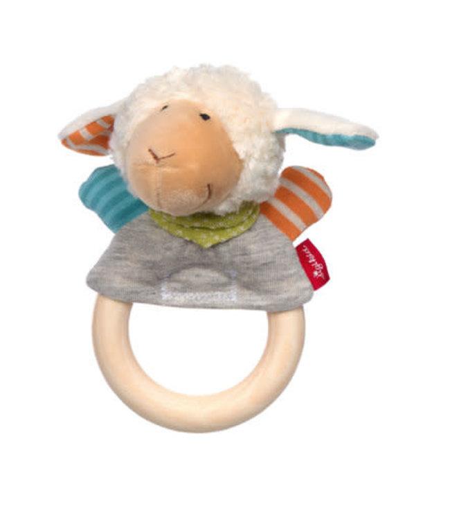 Sigikid Grasp Ring Sheep Boller Schäfle 15 cm 0+