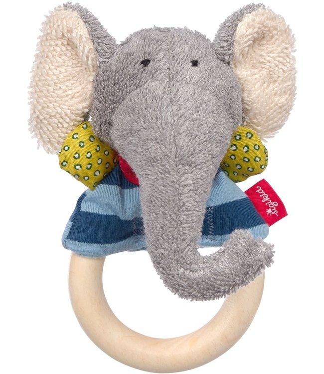 Sigikid Grasp Ring Elephant Lolo Lombardo 15 cm 0+