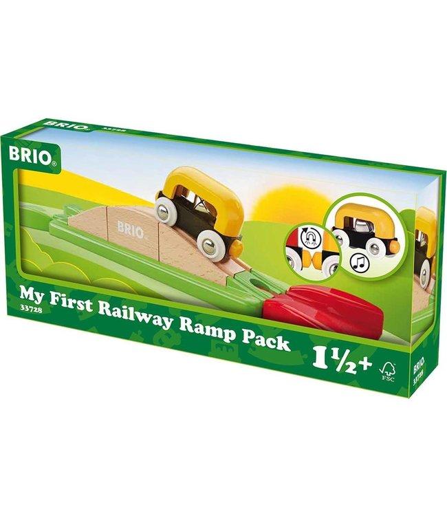 Brio Mijn Eerste Treinbaan Oprit Set
