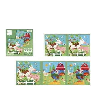 Scratch Scratch To Go Magnetisch Puzzelboek Boerderij  18 cm 3+