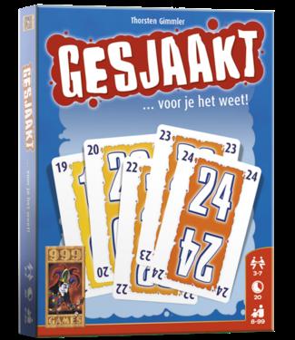 999-Games 999 Games Kaartspel Gesjaakt   8+ exit