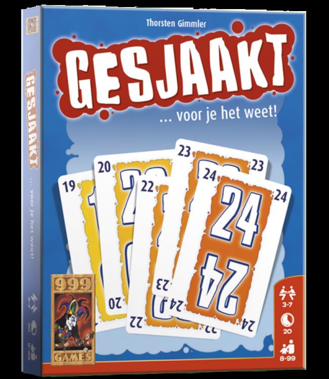 999 Games | Kaartspel | Gesjaakt  | 8+