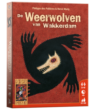 999-Games 999 Games Kaartspel De Weerwolven van Wakkerdam 10+