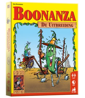 999-Games 999 Games Kaartspel Boonanza De Uitbreiding 12+
