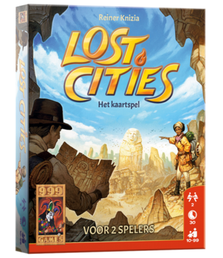 999-Games 999 Games Kaarstpel Lost Cities 10+