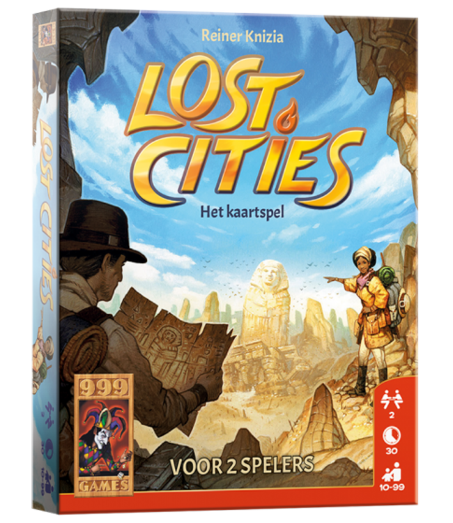 999 Games | Kaarstpel | Lost Cities | 10+