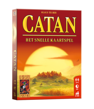 999-Games 999 Games De Kolonisten van Catan: Het snelle Kaartspel  8+