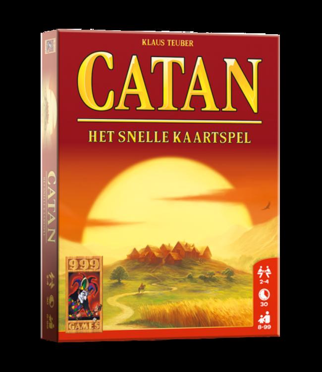 999 Games De Kolonisten van Catan: Het snelle Kaartspel  8+