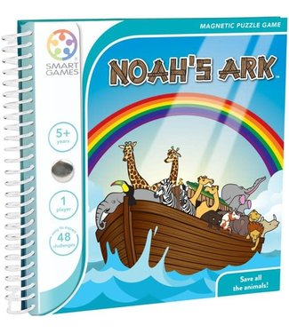 Smartgames Smartgames | Magnetic Travel Game | Noah's Ark | 5+
