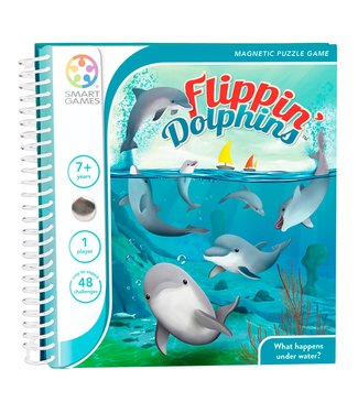 Smartgames Smartgames Magnetic Travel Game Flippin' Dolphins 7+