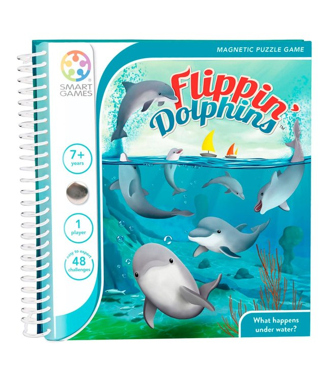 Smartgames Magnetic Travel Game Flippin' Dolphins 7+