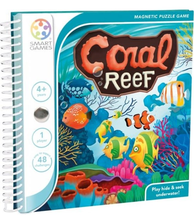 Smartgames Magnetic Travel Game Coral Reef 4+