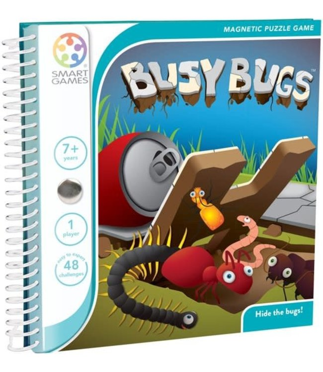 Smartgames Magnetic Travel Game Busy Bugs 7+
