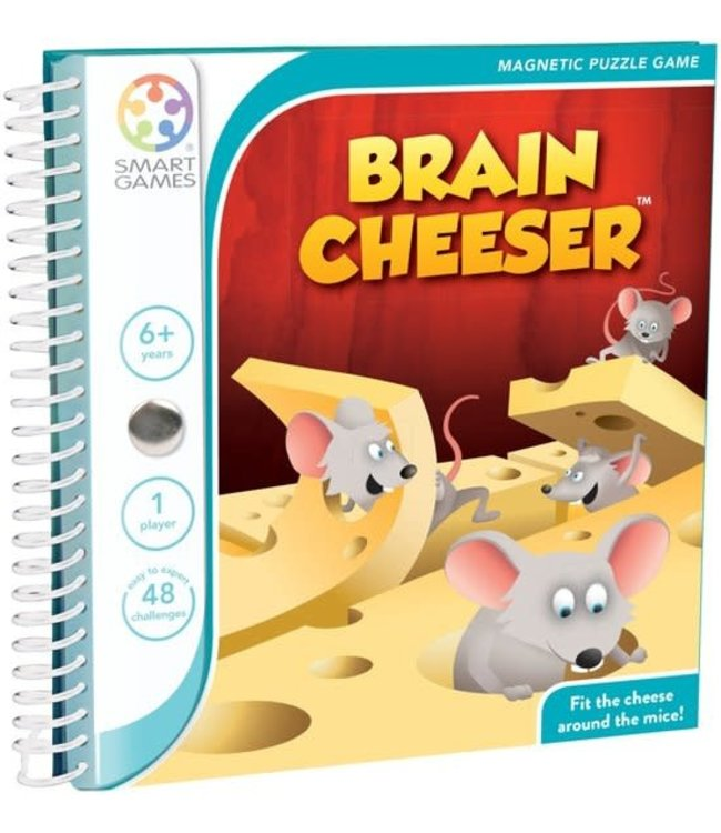 Smartgames Magnetic Travel Game Brain Cheeser 6+