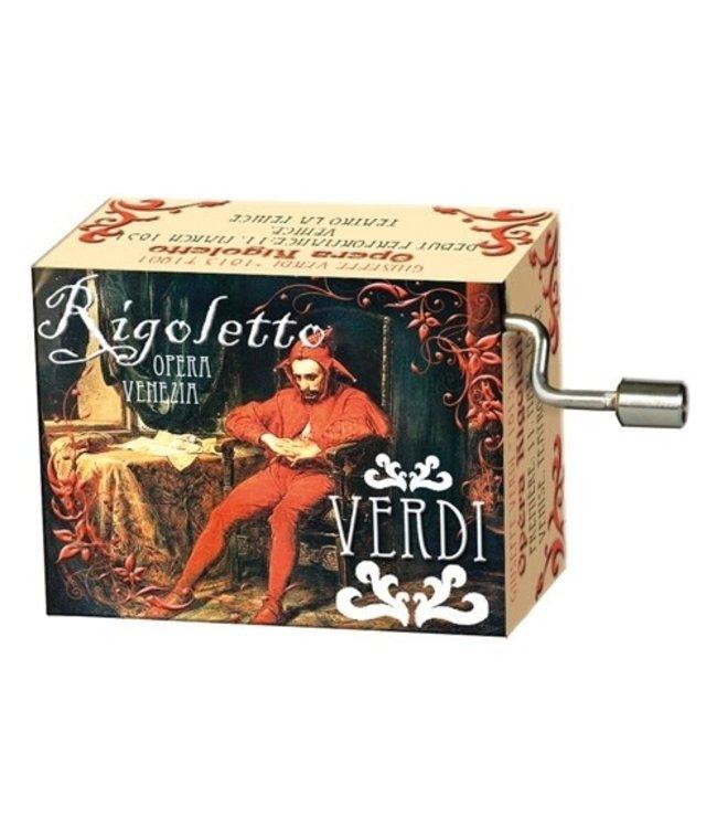 Fridolin Art & Music Muziekmechaniek Opera Rigoletto (Verdi)