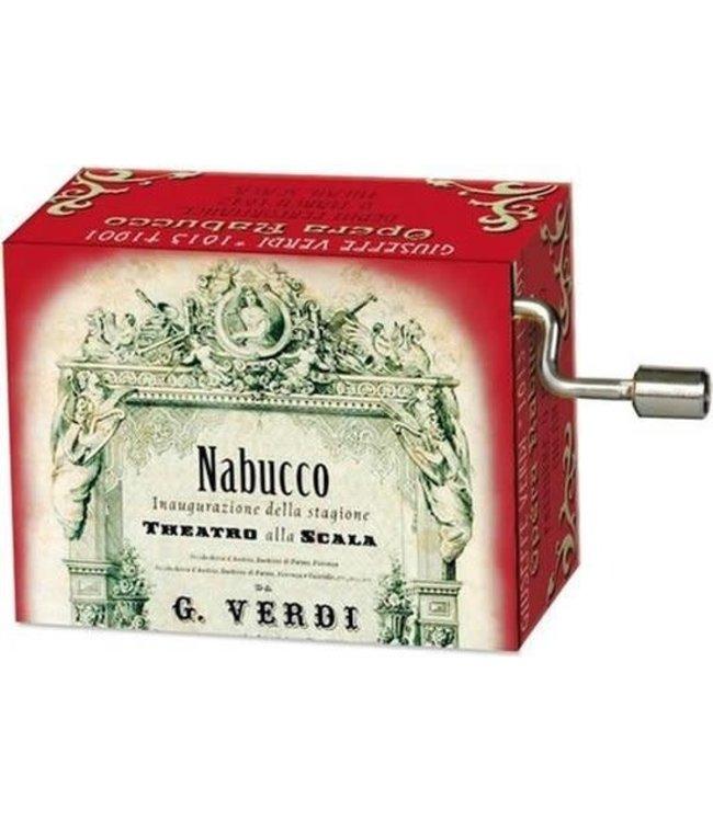 Fridolin Art & Music Muziekmechaniek Opera Nabucco  (Verdi)