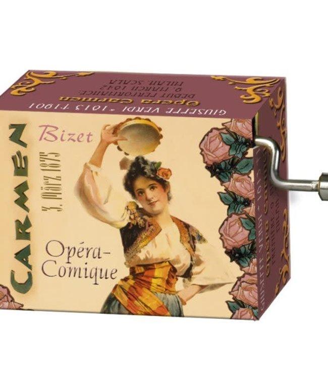 Fridolin Art & Music Muziekmechaniek Opera Carmen  (Bizet)