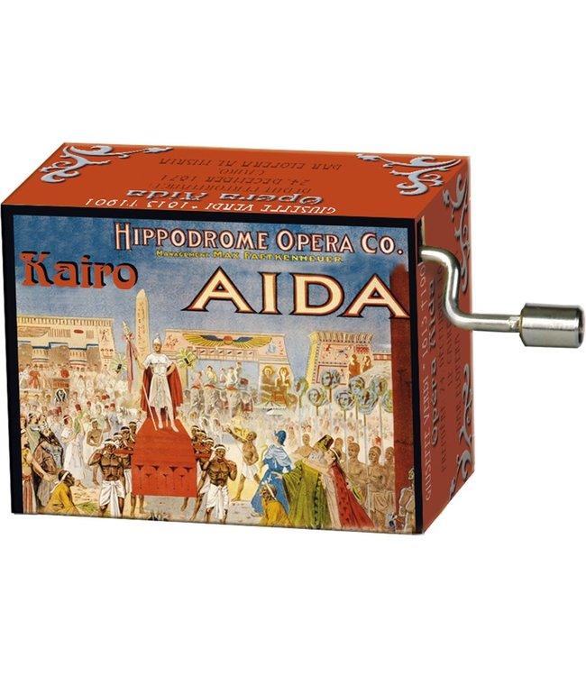 Fridolin Art & Music Muziekmechaniek Opera Aida  (Verdi)