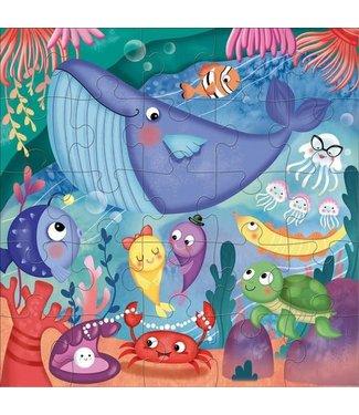 Mudpuppy Mudpuppy Jumbo Puzzle Under the Sea 25 pcs  2+