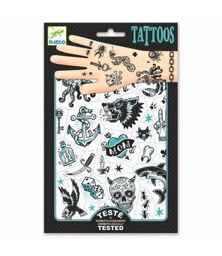 Djeco Djeco Tattoos Dark side