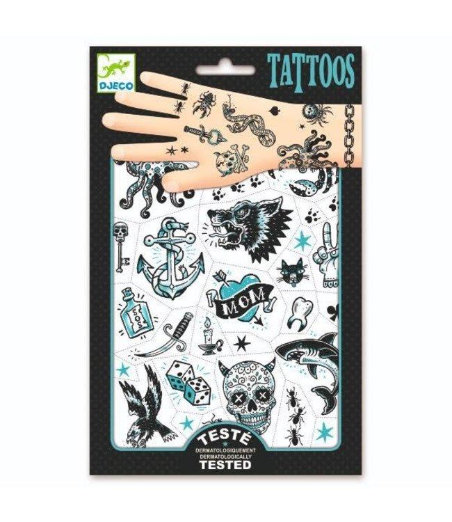 Djeco | Body Art | Tattoos | Dark Side | 3+