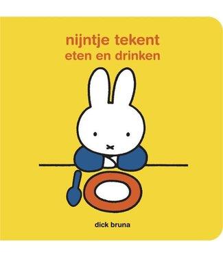 Nijntje Kartonboek Nijntje Tekent  Eten en Drinken