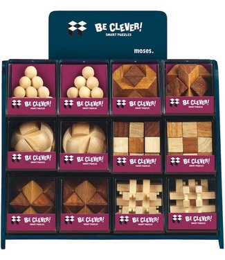 Moses Moses Be clever! Smart Puzzels Maxi Blank Hout  8+