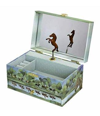 Trousselier Trousselier | Musical Jewellery Box | Horses Normandy