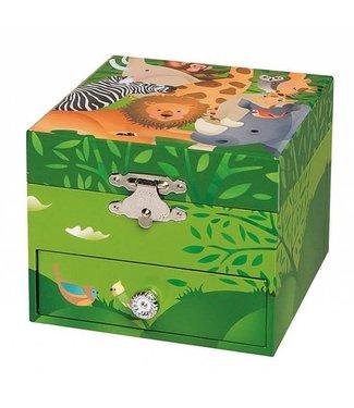 Trousselier Trousselier Musical Cube Box Jungle