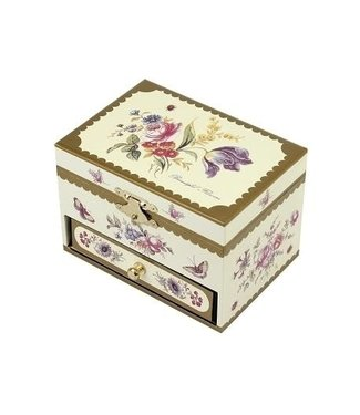 Trousselier Trousselier | Musical Box | Botanical | Yellow | with Drawer